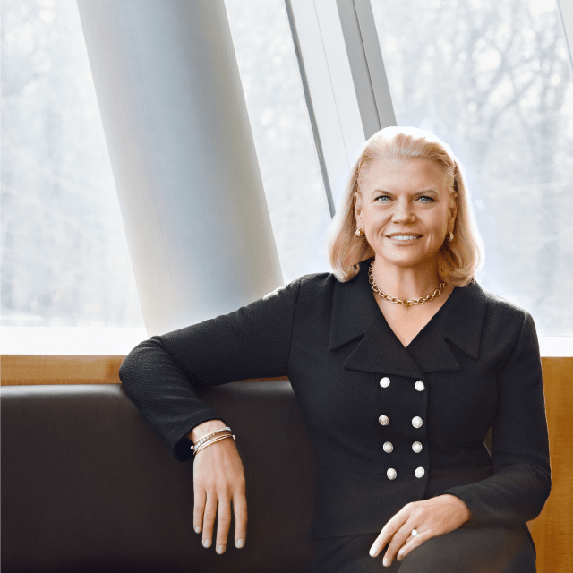 Watch live now: CEO Ginni Rometty unveils IBM's guiding principles for AI at #WEF17: