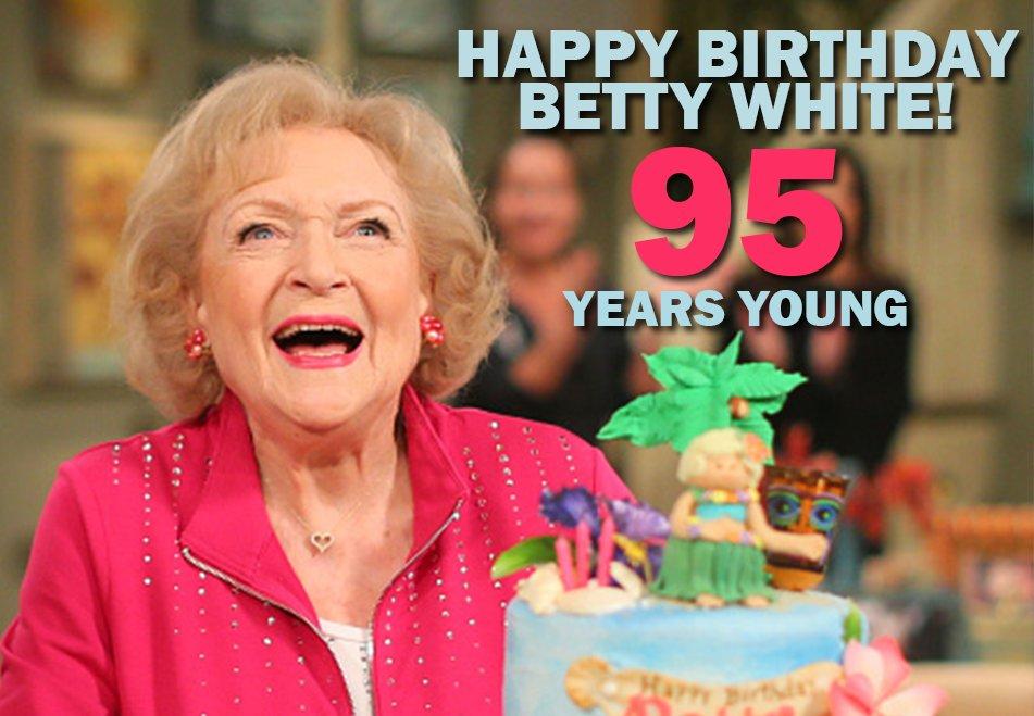 Happy 95th Birthday Betty White! #95yearsyoung #BettyWhite