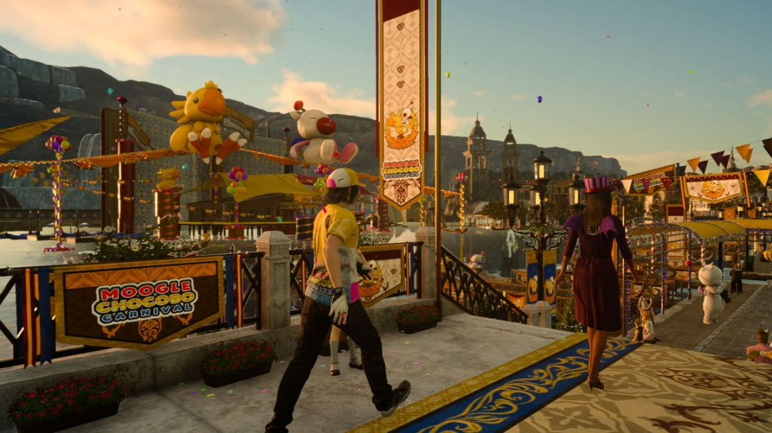 Final Fantasy XV Moogle Chocobo Carnival Trailer