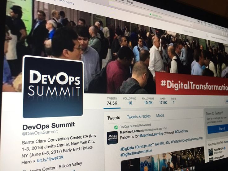 Follow @DevOpsSummit the most influential #DevOps brand in the world #BigData #IoT #AI #ML