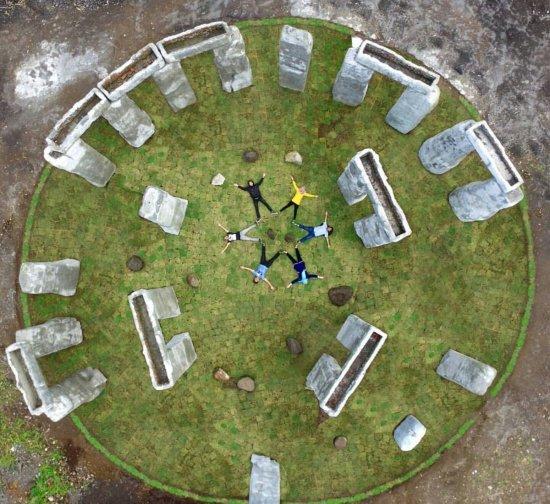 spot liburan hits jogja 2018 lost word stonehenge