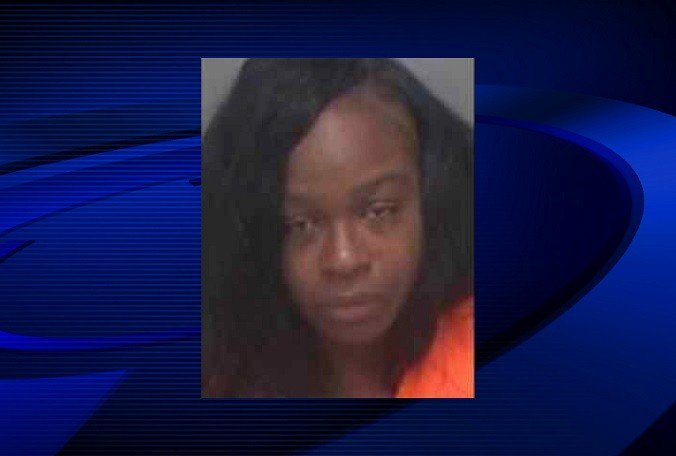 A St. Petersburg woman is accused of throwing a tampon at a police officer