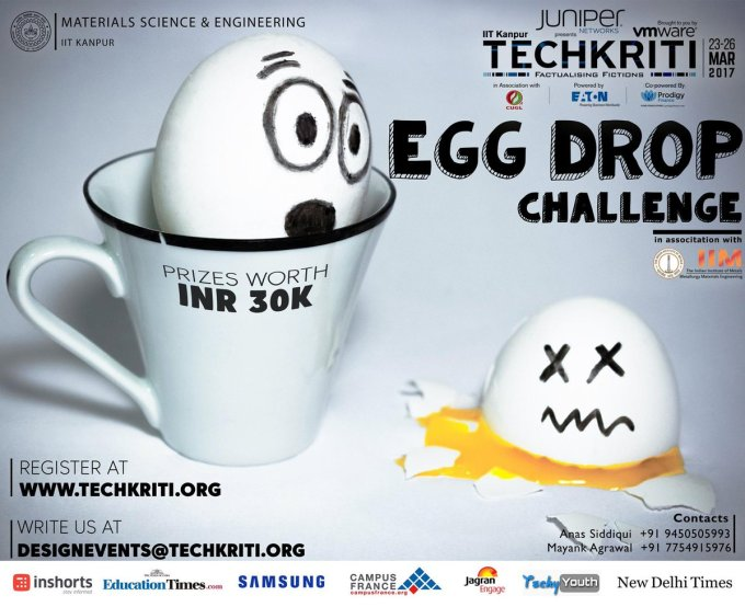 Image result for techkriti 2018 egg drop challenge