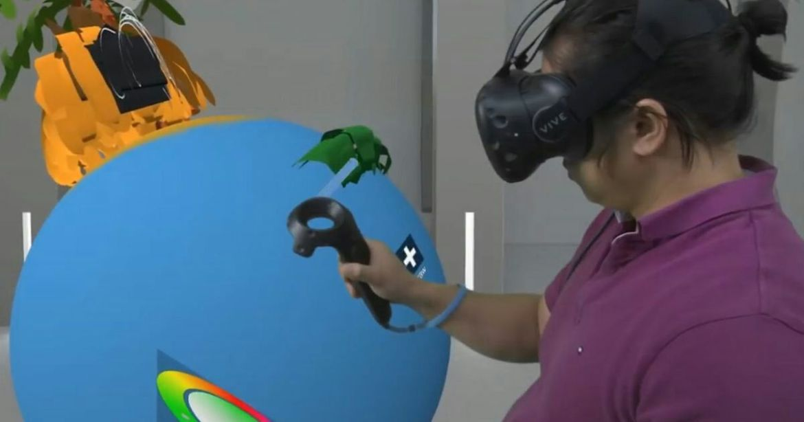 This #VR paint studio allows you to collaborate live with anyone in the world