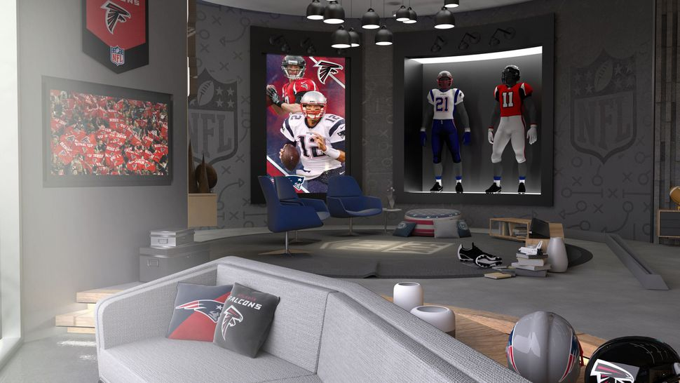 #VR's clutch play: On Sunday, it'll show #SuperBowl highlights in real time