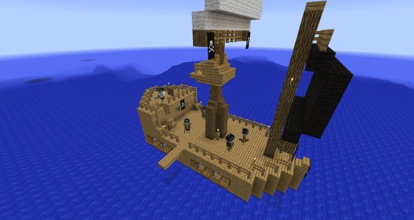 pirate ship minecraft # 28