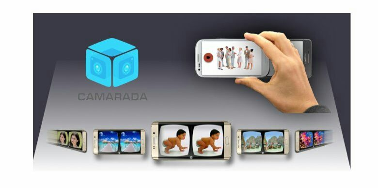 Camarada app lets you take virtual reality videos with two smartphones  #vr