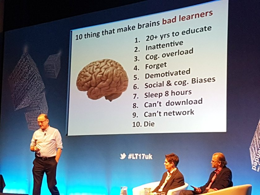 Brains - 10 deep flaws and why AI may be the fix #Ai #edtech #LT17uk