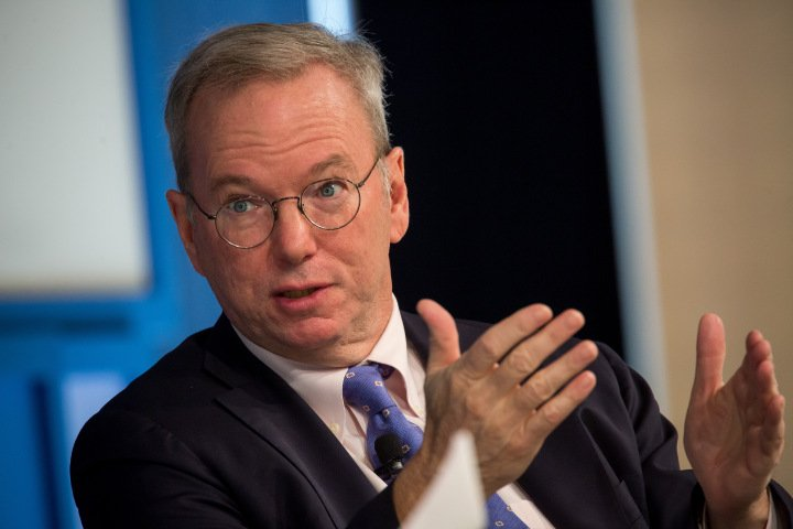 Alphabet's Eric Schmidt: 'I was proven completely wrong' about artificial intelligence