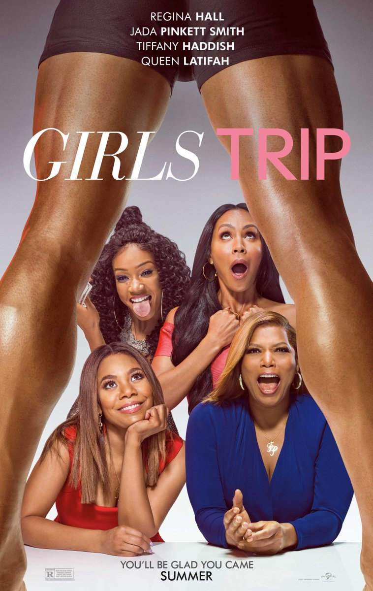 Universal Pictures Debuted Girls Trip Poster
