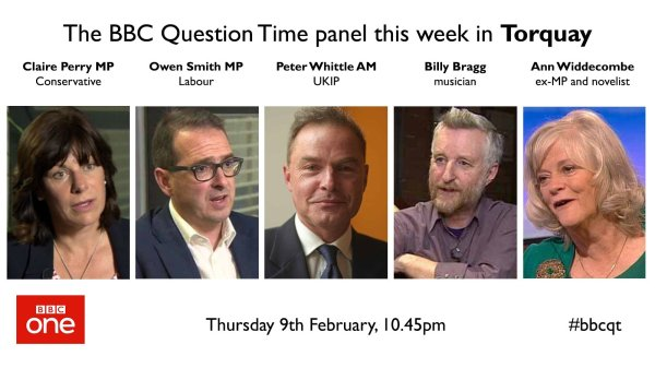 """BBC Question Time on Twitter: """"Here's this week's full # ..."""