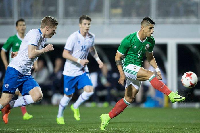 Selección Mexicana vs Islandia goles.