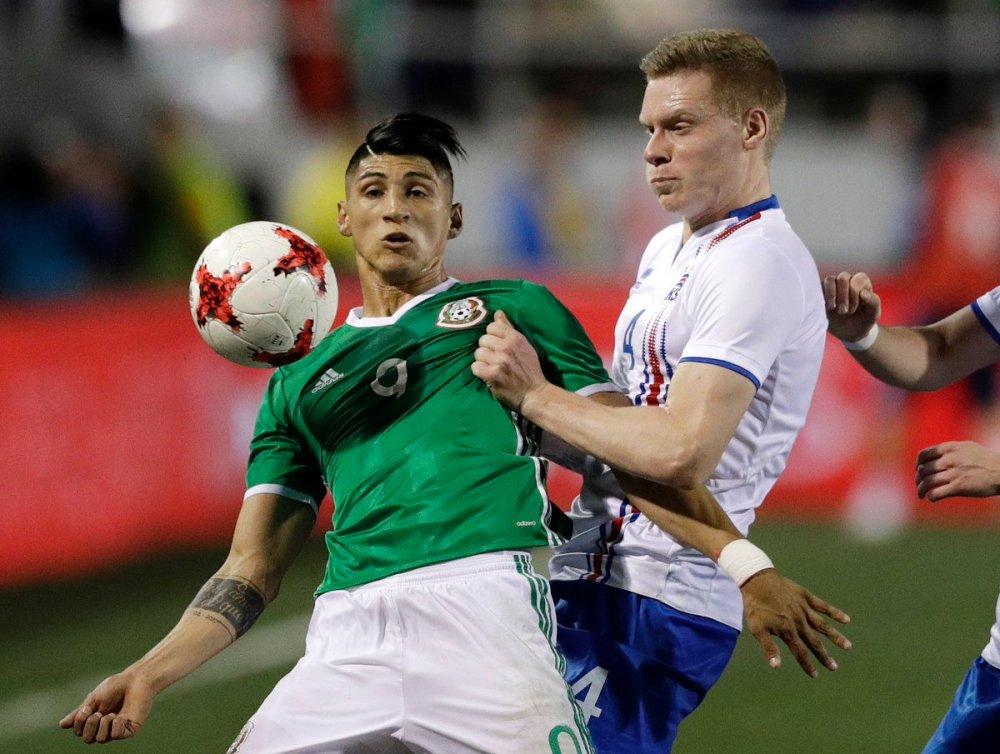 México vs Islandia 2018