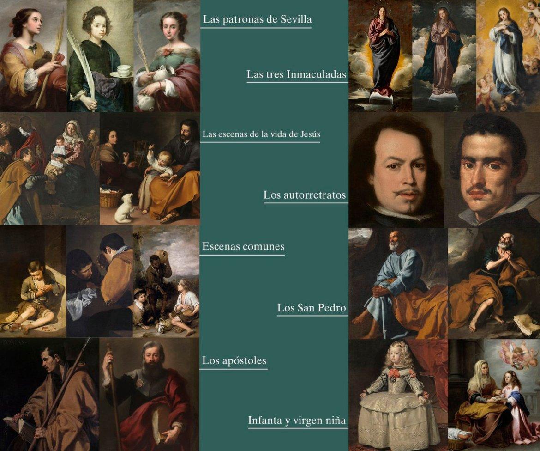 Velázquez. Murillo. Diferencias y similitudes