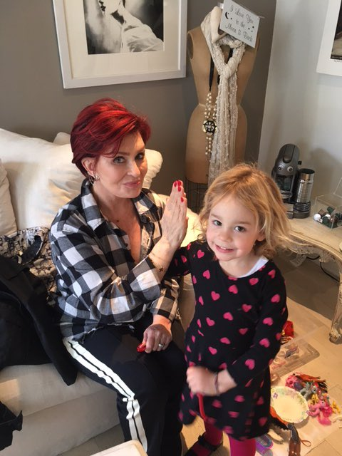 Sharon Osbourne On Twitter A High 5 With My Beautiful