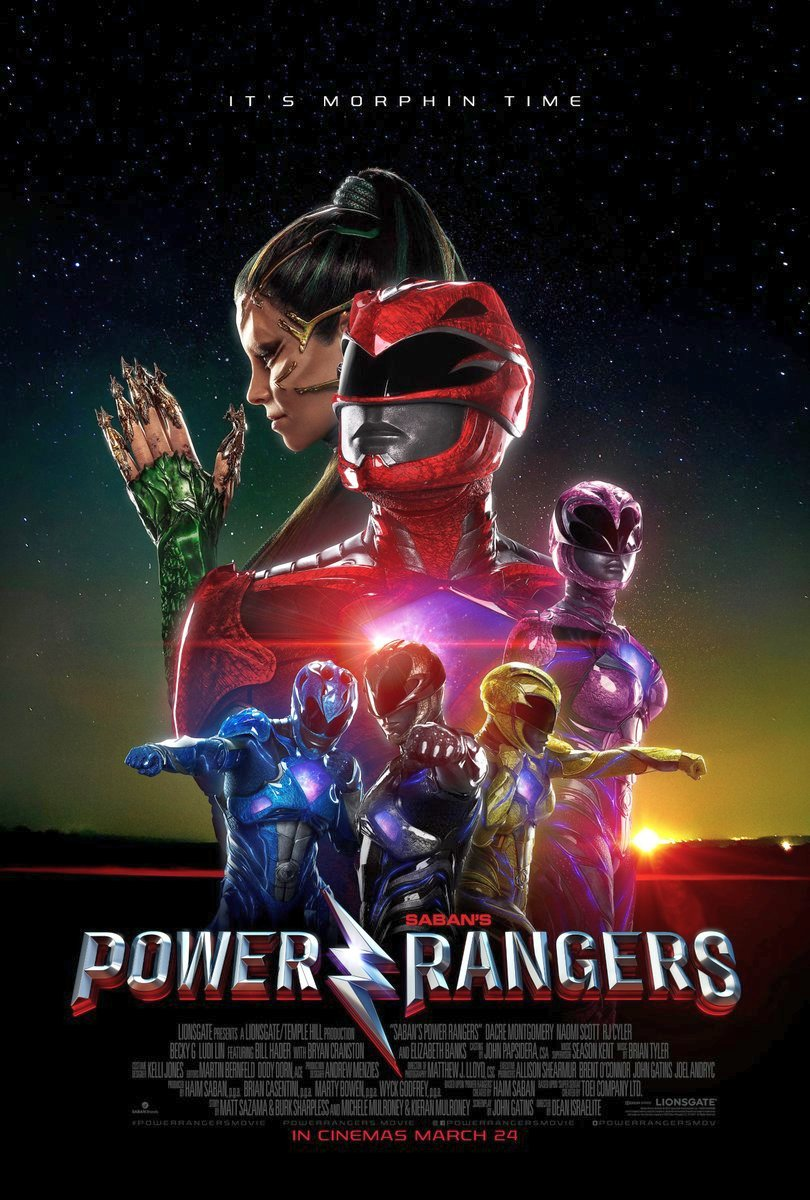 New Power Rangers International Posters Revealed