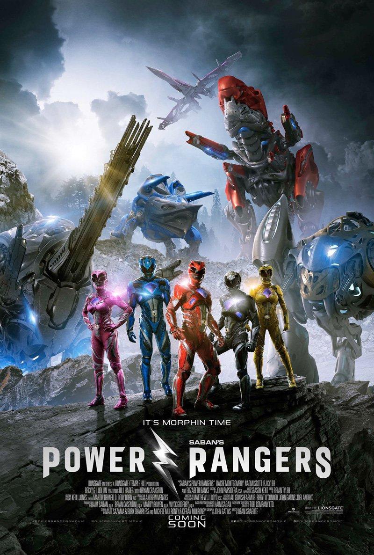 Power Rangers International Poster