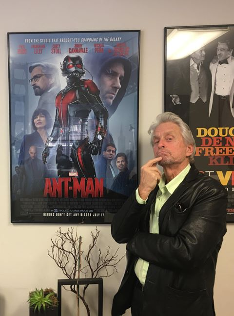 Michael Douglas Will Return For Ant-Man and the Wasp