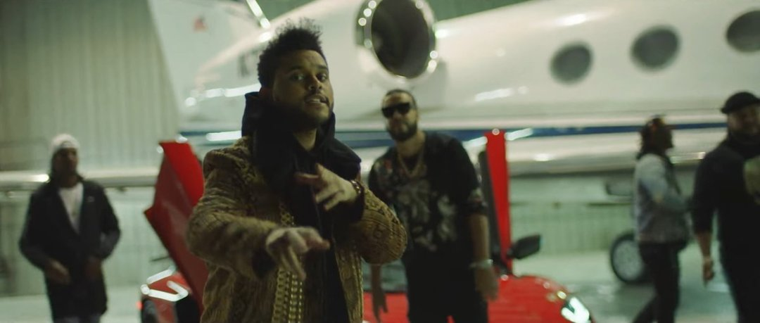 The Weeknd Reminder Music Video