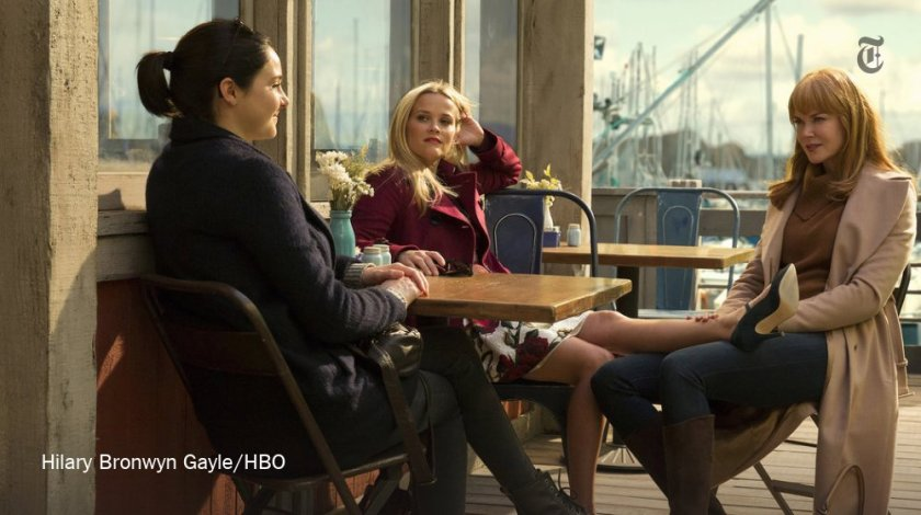 """Visually, at least, """"Big Little Lies"""" is the perfect television beach read..."""