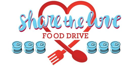 Image result for share the love food drive