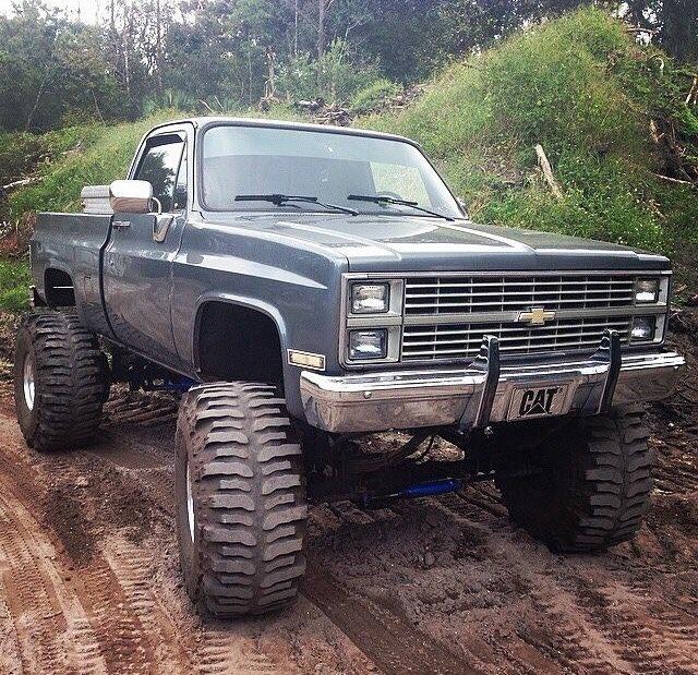 Camo Chevy Lifted Trucks