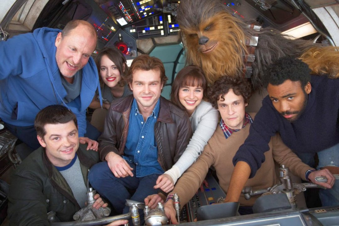 Han Solo Star Wars Spinoff Movie Cast Photo Revealed As Filming Begins