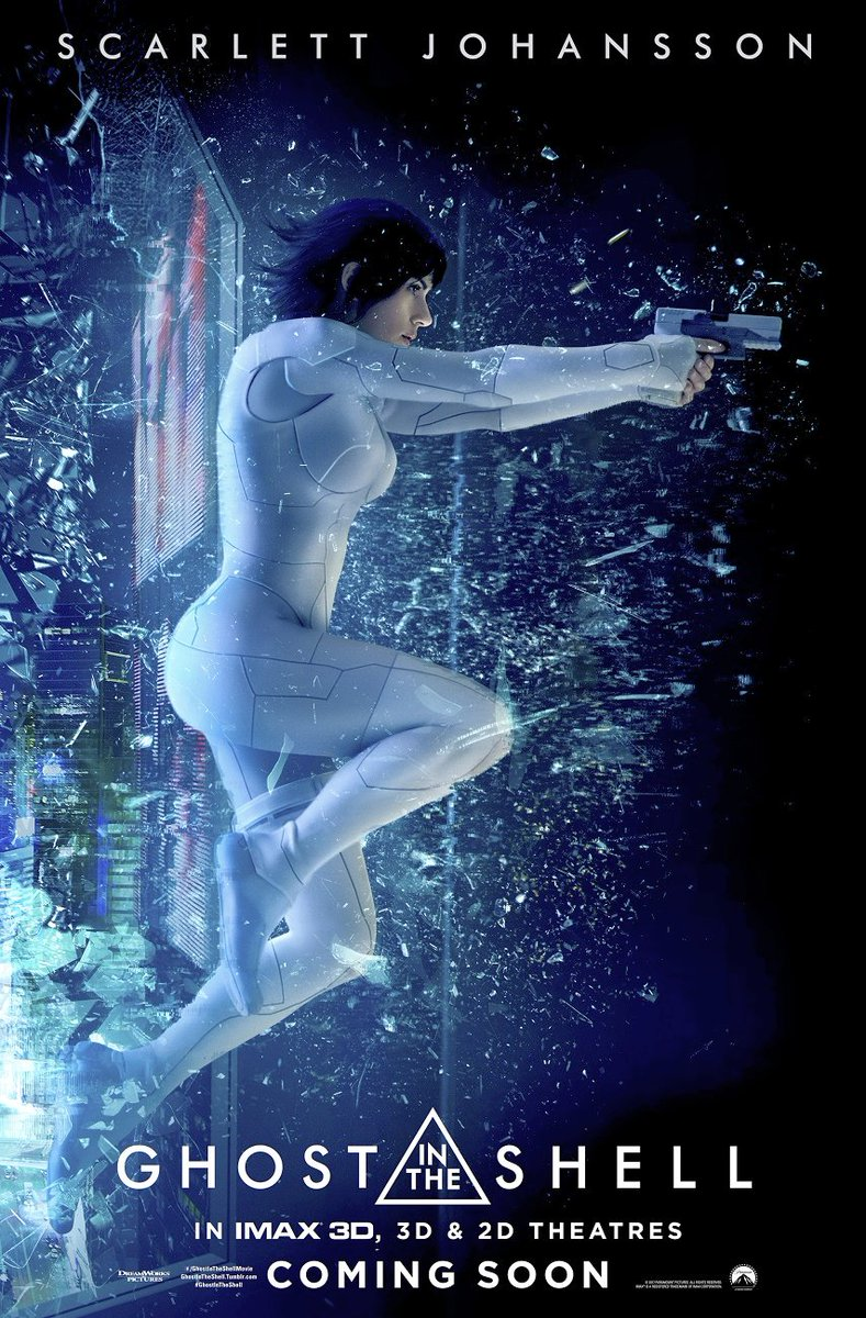 Ghost in the Shell IMAX Poster