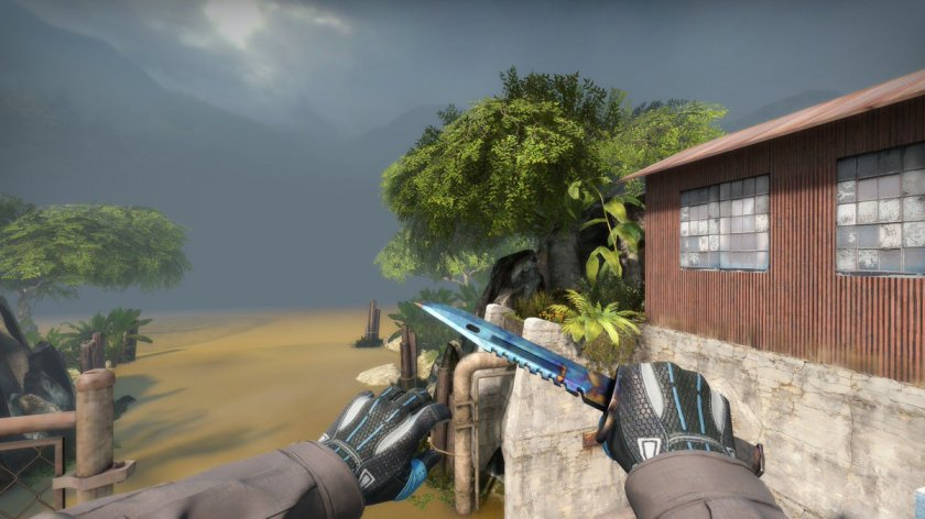 M9 Oceano, one of the most 'known' knives in the game.. /u/aHappyGrizzly...