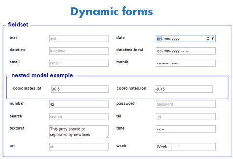 angular-dynamic-forms | Module to build forms from #JSON schemas  #AngularJS #javascript