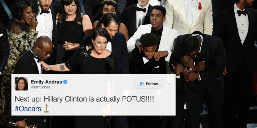 Just 28 perfect tweets from women about the #oscars
