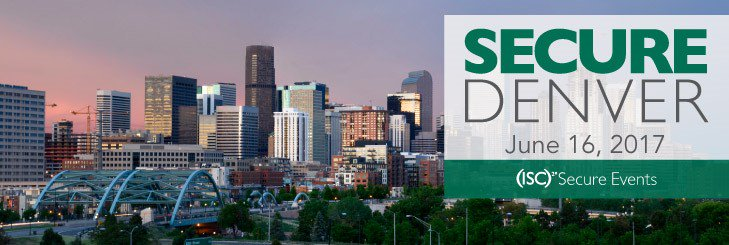 Don't miss #ISC2 SecureDenver on 6/16- Lessons from the Cloud- 9 CPEs Register Now: