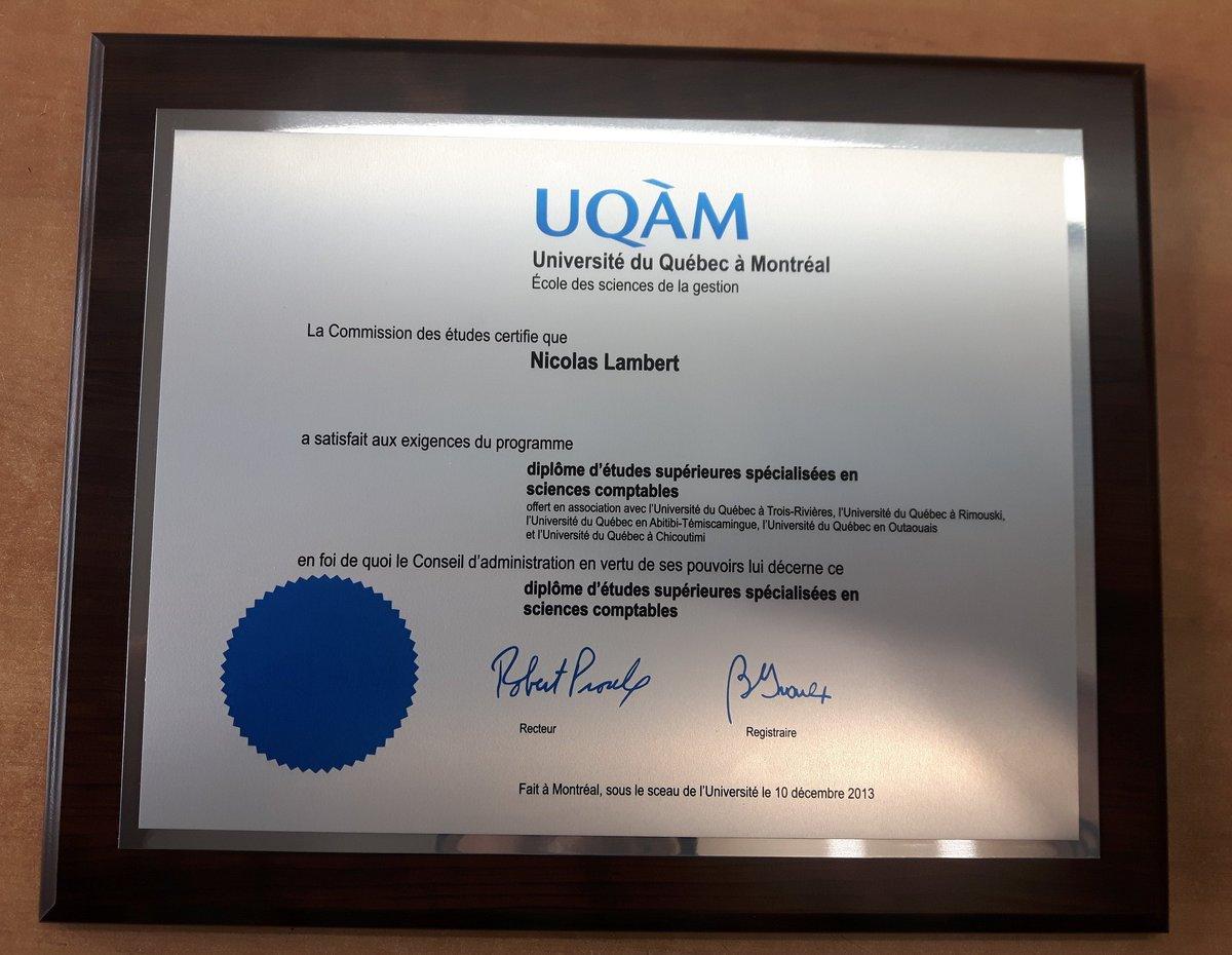metal 150 00 diplome diploma uqam