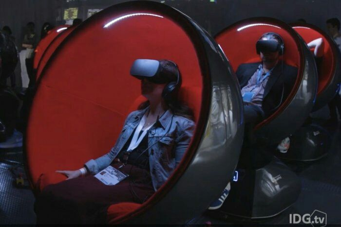 Take a ride on Positron's Voyager, a full-motion chair for #VR cinema