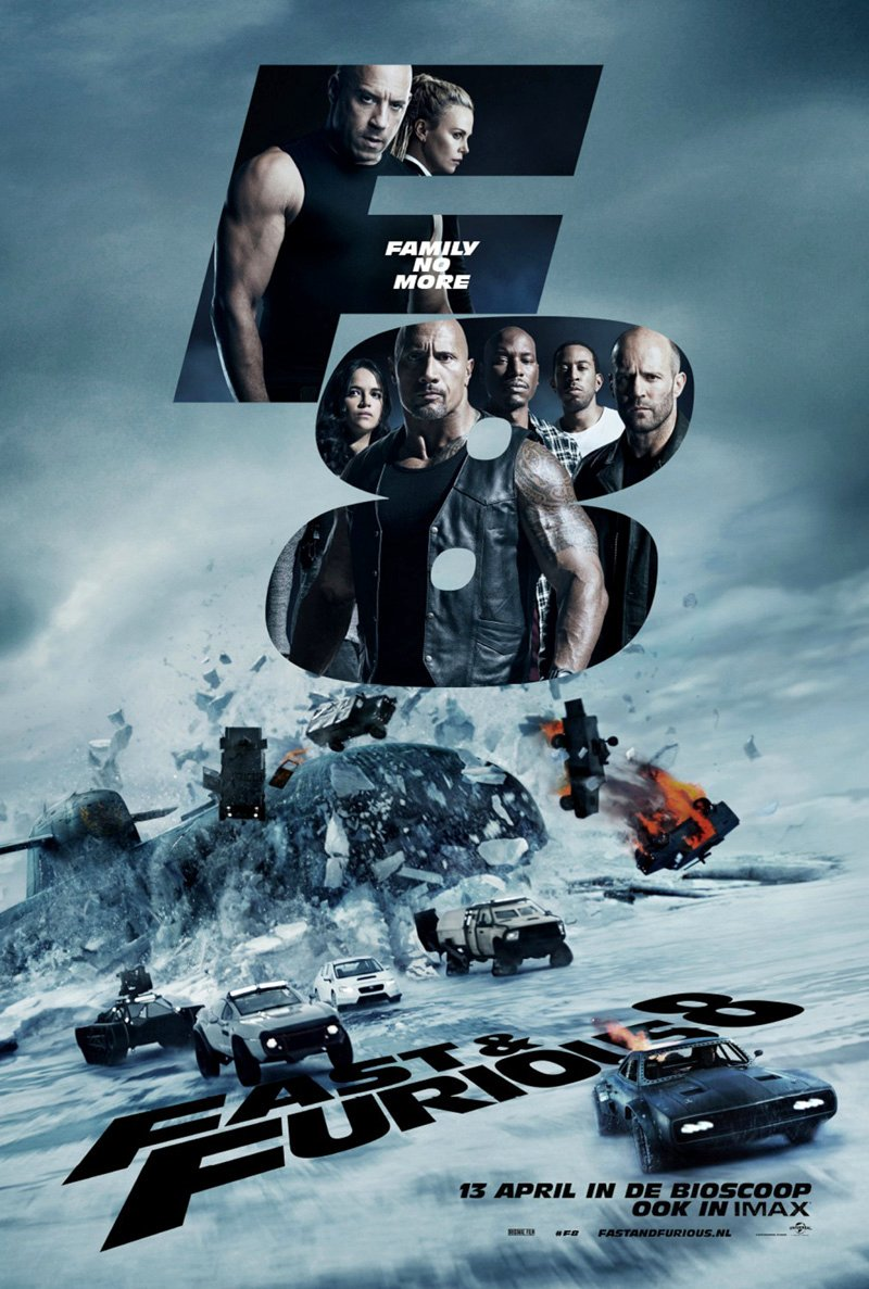 The Fate of the Furious International Poster Revealed