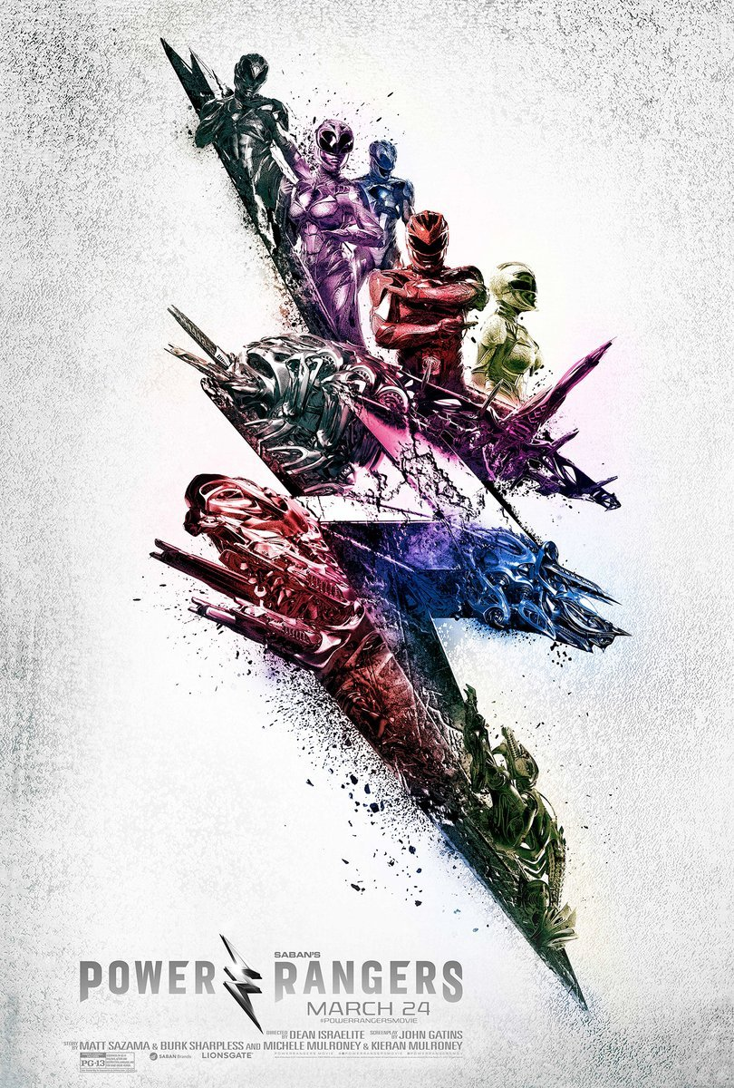 Power Rangers Promotional Posters Revealed