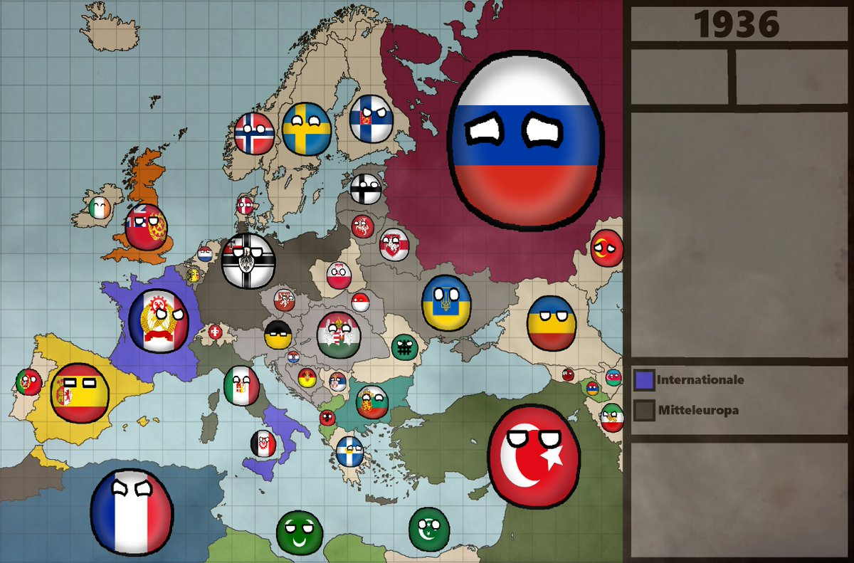 Countryball World Map Images