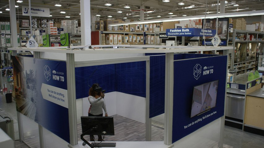 Hardware and home improvement store @Lowes provides #VR clinics for DIY: