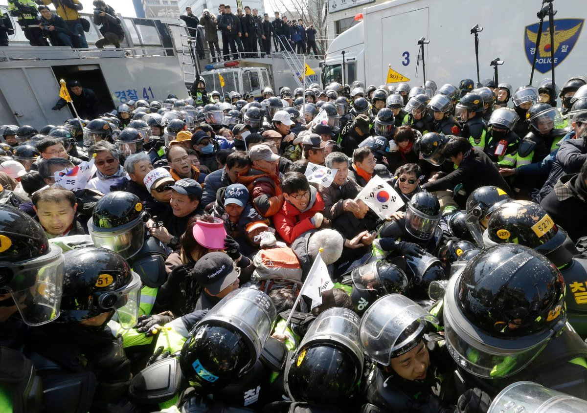 Image result for seoul police park geun hye site:twitter.com