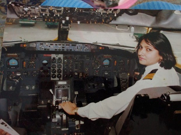 Image result for ayesha rabia naveed pilot