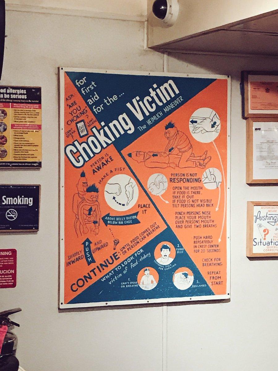 mandated choking poster