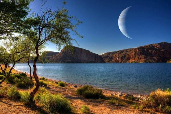 an habitable moon orbiting a gas giant another solution