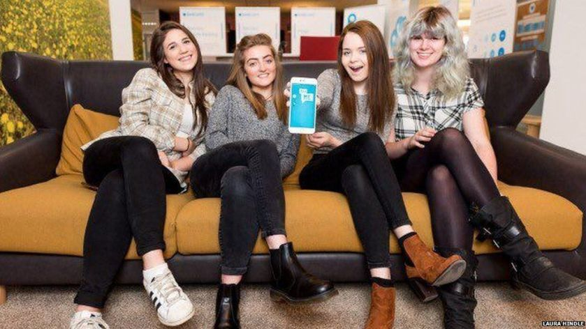 These teenagers built their own mental health app