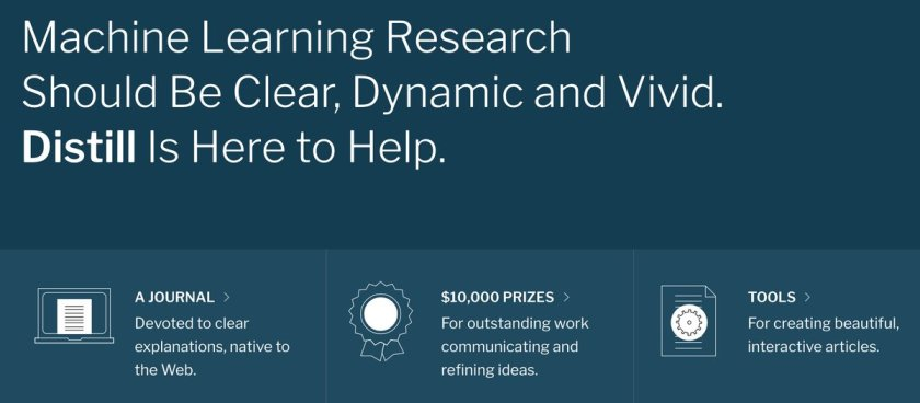 Machine Learning Research Should Be Clear, Dynamic and Vivid. Distill Is Here to Help.