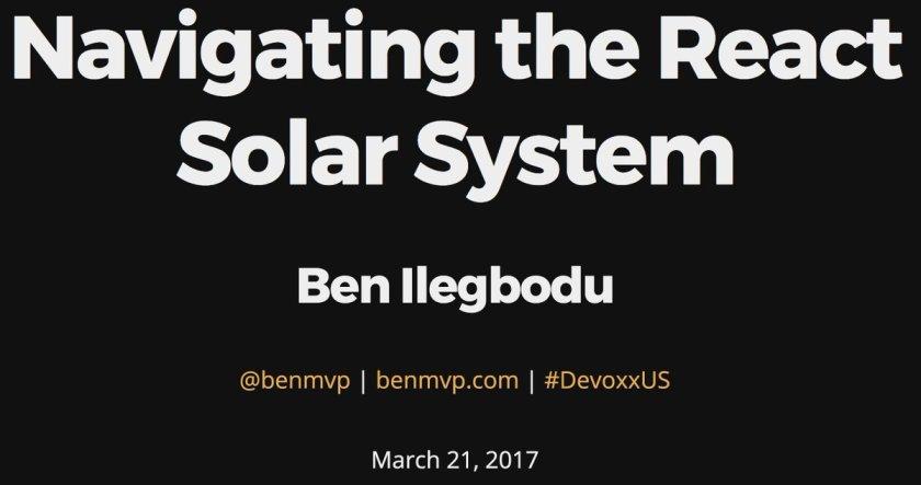 Hello @DevoxxUS! Here are my slides for