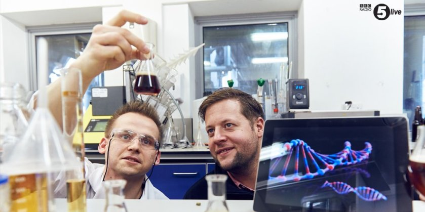 When science meets beer drinking  🍻   The world's first pint based on your DNA  ➡️