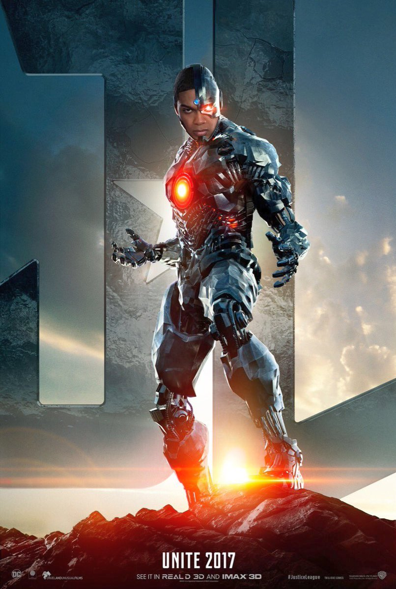 Ray Fisher as Victor Stone / Cyborg