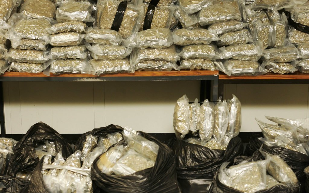 What Would You Do With 2,000 Pounds? Serbian Police Seize Over a Ton of Marijuana.