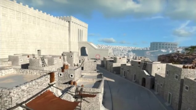 New virtual reality app brings you back to Ancient #Jerusalem.