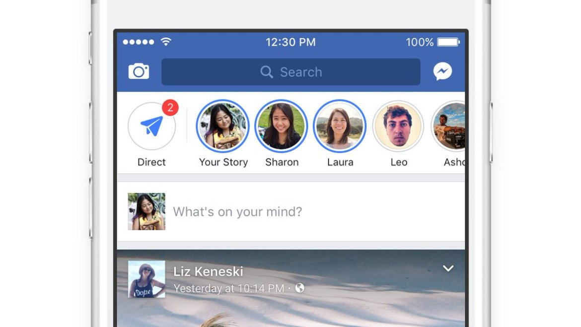 Facebook launches Stories in the main Facebook app  #5G #IoT #mobile